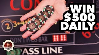 Win $500 Per Day with Craps?