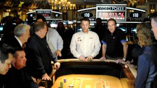Kevin Harvick plays Craps at The Bellagio
