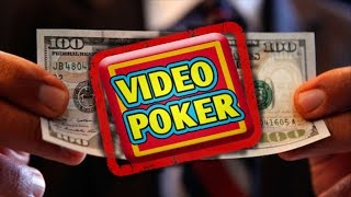 Amazing Secret To Winning At Video Poker – Without A Strategy!