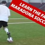 How To Do The Maradona or Roulette 360 Soccer Football Move