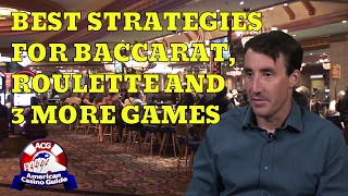 """Best Strategies for Baccarat, Roulette & 3 More Games with Michael """"Wizard of Odds"""" Shackleford"""