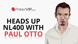 Poker Strategy: Heads Up NL400 with Paul Otto: Part 1