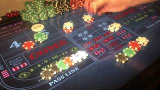 Craps Hedge the point and invest the difference (part 2)