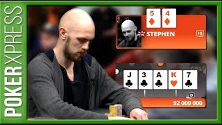 Stephen Chidwick: 4 POWER POKER plays!