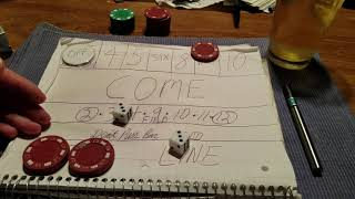 New craps strategy follow the trend part 1
