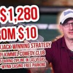 HOW TO WIN IN BIG IN BLACKJACK + WYNN CASINO FREE PARKING   Check This Out Las Vegas #2