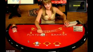 Awful Live Dealer Baccarat Session