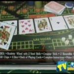 5 Game Poker Set Roulette, Black Jack, Craps, Poker Dice