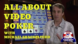 """All about Video Poker with casino gambling expert Michael """"Wizard of Odds"""" Shackleford"""