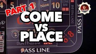 Come Bet vs Place Bet Pt.1 – Casino Craps 🎲