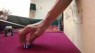 Craps Strategy – 5/4 2/1 Single Finger First Finger Grip n Throw| Angled