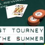 First Poker Tourney of the Summer + TIPS & and first CASH! | WSOP 2017 VLOG
