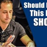 Should I Call This River Shove? (Online Poker Strategy – Hand of the Day)