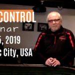 Learn How to Play Craps & Win! Dice Control Seminar May 3-5, 2019 Atlantic City.