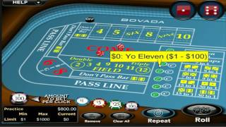Craps guide for beginners Vid 7: Pass Odds and Don't Pass Odds