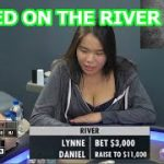 Poker Strategy: Lynne gets Raised on the River Holding a Broadway Straight