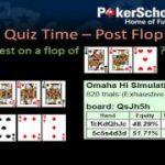Pot Limit Omaha – Poker Quiz – Learn PLO
