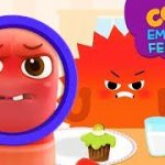 Emotion & Feeling with Como | Learn emotion | Angry 3 | Cartoon video for kids | Como Kids TV