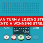 Playing Baccarat: Don't Let Losing Streak Scare You! | aibankroll.com