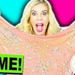 DIY Giant Metallic Slime Out Of MakeUp! Learn how to make fluffy, butter, holographic