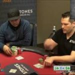 Poker Strategy Bart Hanson Bets Super Thin For Value in a 4 bet Pot!