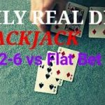 Daily Real Deal: Blackjack 6-decks 1-3-2-6 vs Flat Bet 20170421