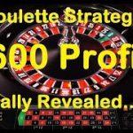 Best Roulette Strategy Revealed – SUPER 36 (Profit £600+)