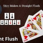 Poker Strategy: 54cc Makes A Straight Flush