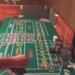 Craps video showing 2 come bets and 2 don't come bets. (555) strategy