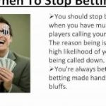 Poker Strategy – Learn How To Play Like A Pro