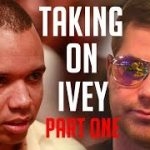 Flopping a MONSTER against PHIL IVEY! Poker pro analysis