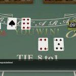 Yakuza Kiwami  –    Baccarat Minigame –  Haruka's Trust –   Get over 4000 chips in  Baccarat