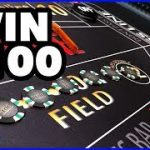 Win $100 every time at Craps?