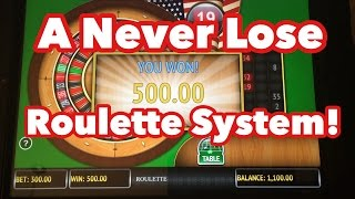 *WATCH ME WIN BIG PLAYING ROULETTE! 100% WIN RATE! BEST ROULETTE STRATEGY