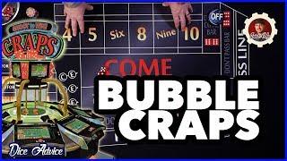 Bubble Craps Machine Strategy