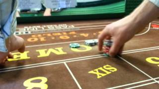 Craps Dealing: Press 6 and 8 One Unit ($48 to $54)