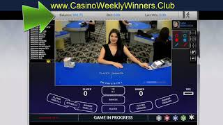 "How To Win $5000 Weekly –  ""Baccarat"""