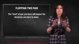 Two Pair on Flop ♠♦ Advanced Texas Holdem Poker Strategy Tips from Professionals 2017