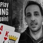 Cash Game Poker Strategy: How to Play Ace King in No Limit Holdem