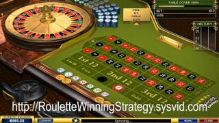 Beat the casino roulette game using this method
