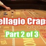 Real Craps Game at Bellagio Casino Las Vegas, part 2/Relaxing Gambling Sounds ASMR