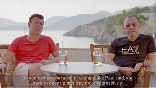 Sam Trickett & Paul Phua: Poker tournament tips part 1