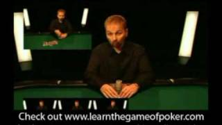 Beginner Poker Lessons with Daniel Negreanu – 1/3