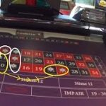Roulette snake strategy by betting on 15 numbers straight up, and a quick win of 30 chips