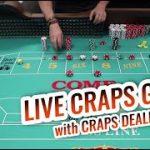 LIVE CRAPS GAME with Master Craps Dealer David | Casino Craps Let's Play #2