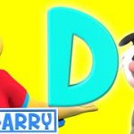 The Letter D | Learn The Alphabet With Phonics | ABC Harry Nursery Rhymes & Kids Songs