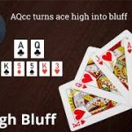 Poker Strategy: AQcc turns ace high into bluff