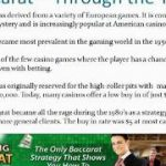 All About Baccarat – What You Need To Know