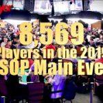 2019 WSOP Main Event Draws 8,569 Entries!