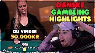 STORE GEVINSTER PÅ ROULETTE & BLACKJACK   Danske Gambling Highlights #2